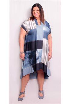 Robe Denim Mat Fashion